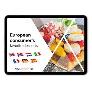 European Consumers Favorite Desserts – 2018